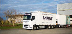 logistique transport fenetres millet