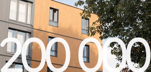 200 000 menuiseries posees chez millet