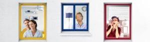 communication fenêtres pvc couleur millet