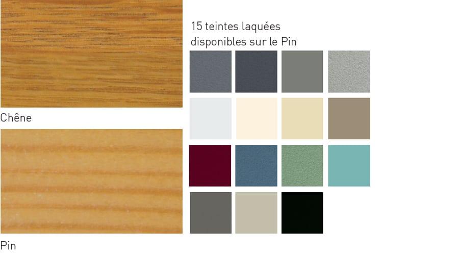 couleurs fenetres en bois aluminium multimatériaux gamme M3D