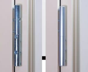 Ergonomie des portes d'entrée métal