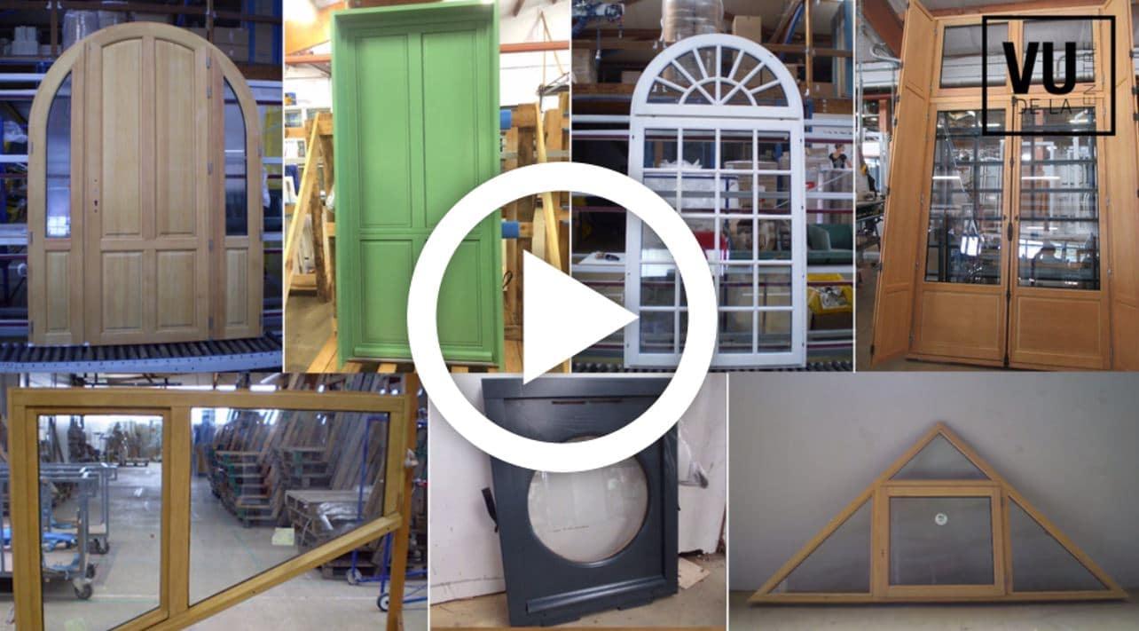magazine vidéo vu de la fenêtre - spécial bois