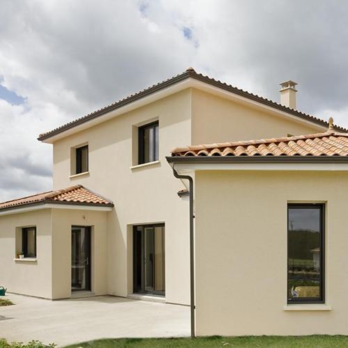 harmoniser les facades exterieures avec fenetres sur mesure en aluminium