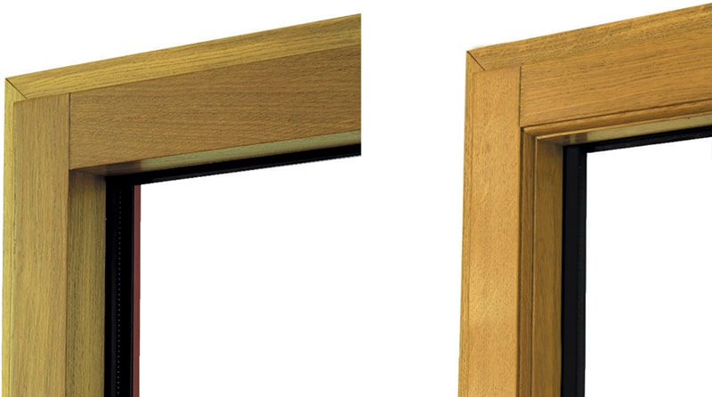 design une fentre en bois Millet multimateriaux