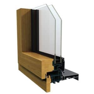 angle fenetre interieur bois exterieur aluminiium multimateriaux