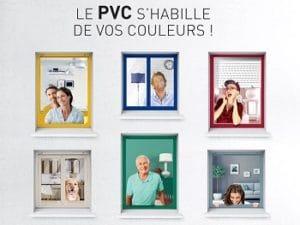 les fenêtres pvc couleur