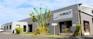 vue extérieur site de production la Réunion