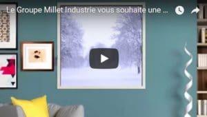 vidéo voeux simple millet 2018