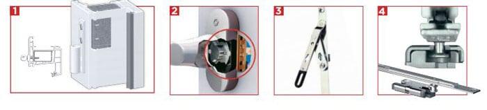 détail pack fenêtre sécurité cybel