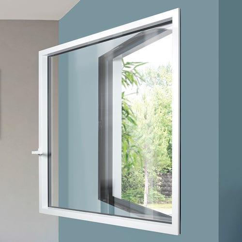 fenêtre siMple : charnières invisibles
