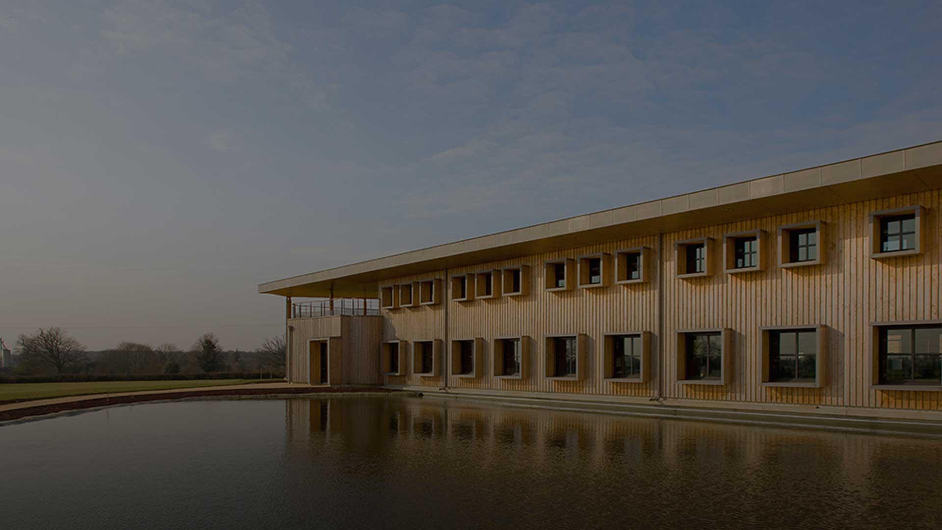 bâtiment bio-climatique siège social