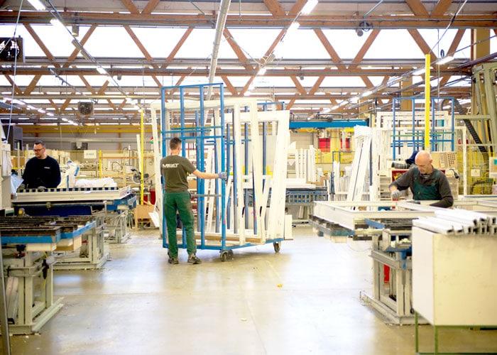 De la lumière naturelle dans les unités de production