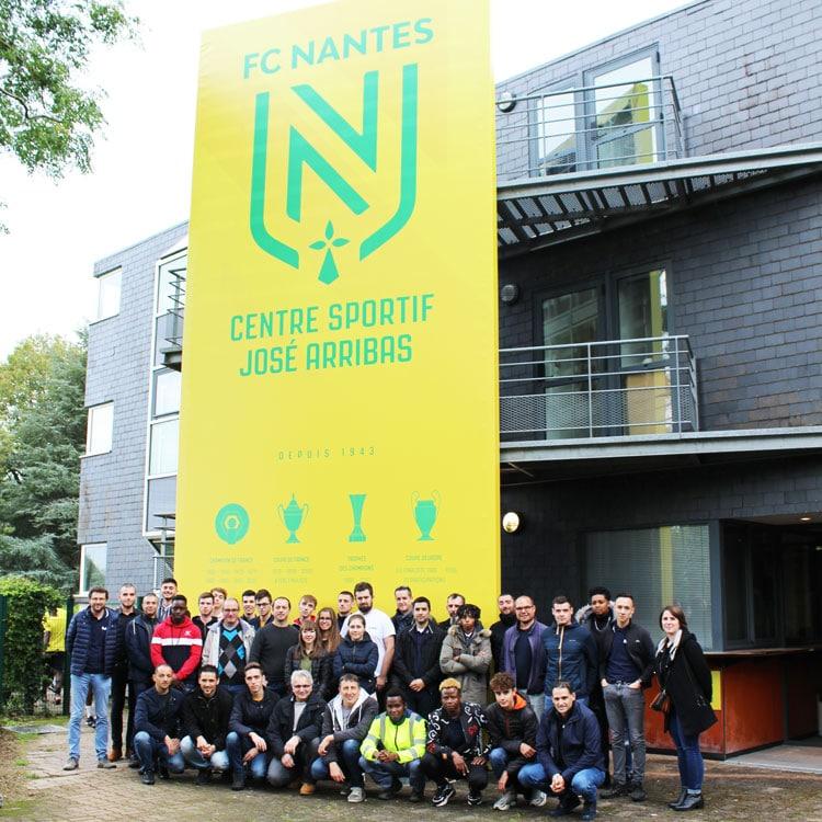 Alternants au centre de formation du FC Nantes