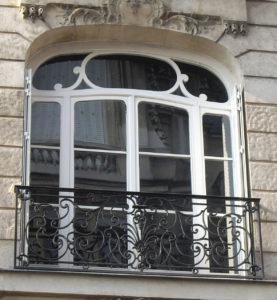 fenêtre Haussmannienne