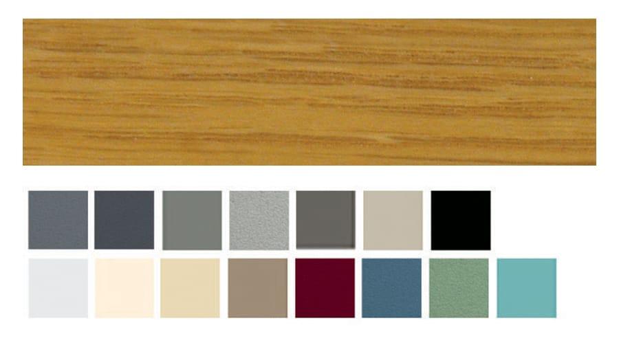 couleurs m3d alu bois
